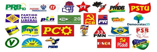 Resultado de imagem para partidos políticos