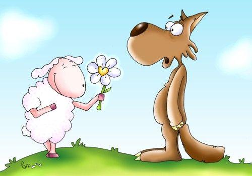 ovelha e lobo